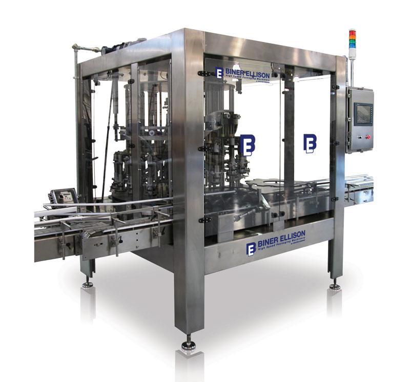 ROF rotary overflow filling machine